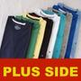 Kit Com 5 Camisetas Tamanhos Especiais 1g 2g 3g 4g Plus Side