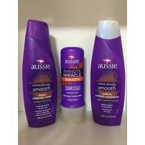 Kit Aussie Smooth Shampoo Condicionador + 3 Minute Miracle