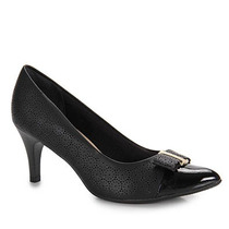 Sapato Scarpin Conforto Feminino Piccadilly - Preto