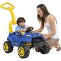 Carrinho Smart Car Azul Com Pedal Infantil P/meninos