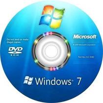 Cd De Instalação Windoows 7 - Todas Versões 32 E 64 Bits.