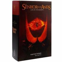 Livro Trilogia O Senhor Dos Anéis - Capa Flexível Do Filme