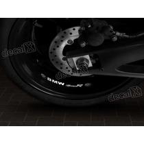 Adesivos Centro Roda Refletivo Moto Bmw F800r Rd2 - Decalx