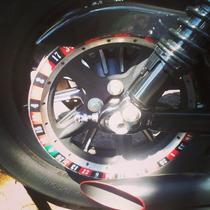 Adesivo Roleta Casino Polia Harley Davidson Sportster 883