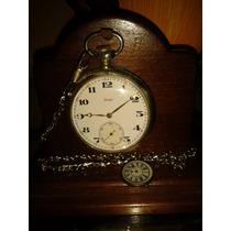 Relíquia: Relógio Bolso Zenith Grand Prix Paris - Swiss/1920