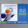 Bloco Aquarela Fabriano - 200g/m² - 20 Folhas (18 X 24cm)