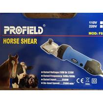 Tosquiadeira Profield Para Cavalos Poneis Equinos 350w 110v