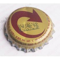 Tampinha Antiga - Cerveja Skol - Logo Redondo (fab. Lages)