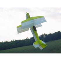 Biplano Troll - F3a - C/ Canopy Transparente - Kit P/ Montar