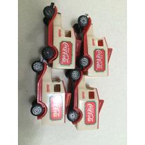 Antigo Mini Caminhão Coca Cola 4 Peças Oportunidade !!!!