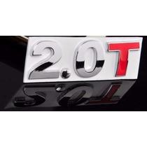 Emblema 2.0 T Produto Importado Para Carros Turbo Passat T !
