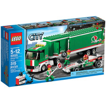 Lego City 60025 Caminhão Do Grande Premio-pronta Entrega