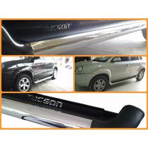 Estribo Personalizado Cor Original Inox Hyundai Tucson