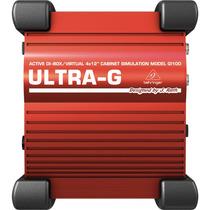 Direct Box Ativo Behringer Ultra-g Gi100 - Com Garantia