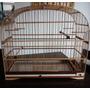 Gaiola Pixarro Trinca Ferro Malha Bambú