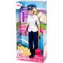 Boneca Barbie Quero Ser Piloto De Avião + Brinde