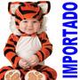 Fantasia Parmalat Bebe Tigre Tigrinho Importado Foto Estudio