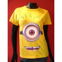 T Shirt Feminina Minions