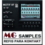 Samples Kontakt Motif Xf Completo + Brindes + Manual + Nki