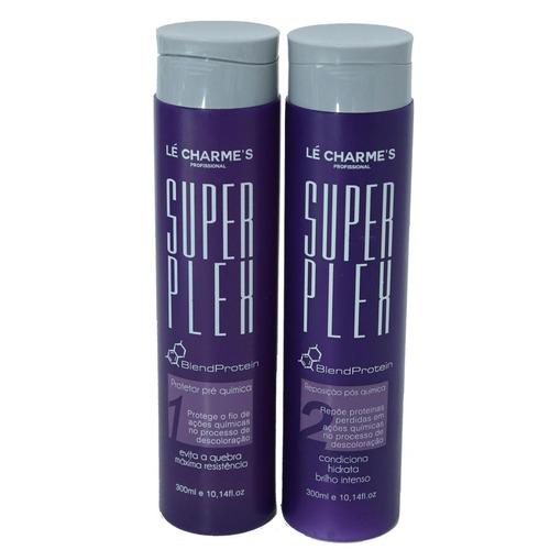 Super Plex Lé Charmes Intensy Color - Pré E Pós Químico