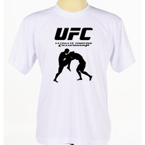 Camisa Camiseta Estampada Academia Treino Ufc Mma