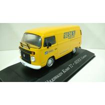 Miniatura Kombi T2 Correios Sedex 1/43 Volkswagen Vw