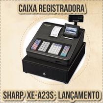 Registradora Sharp Xea-23s / 207 Frete Gratis Envio Imediato