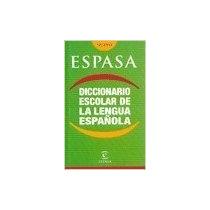 Diccionario Escolar De La Lengua Española De Espasa