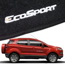 Friso Lateral Resinado Para Ford Ecosport + Tapetes Bordados