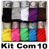 Cueca Boxe Calvin Klein Kit Com 10 * Pronta Entrega*