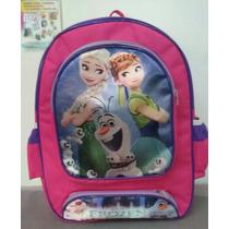 Mochila Escolar Frozen- Anna E Elsa- Pronta Entrega