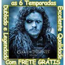 Serie Game Of Thrones 1ª Até 6ªtemporada + Box Frete Grátis