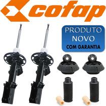 Kit 2 Amortecedor Dianteiro Honda Fit 02-08 Cofap Novo+kits