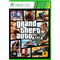 Gta 5 - Grand Theft Auto 5 - Xbox 360 - Mídia Fisica