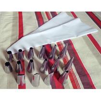 Bicos Para Confeitar Em Inox (kit Com 24 Peças)