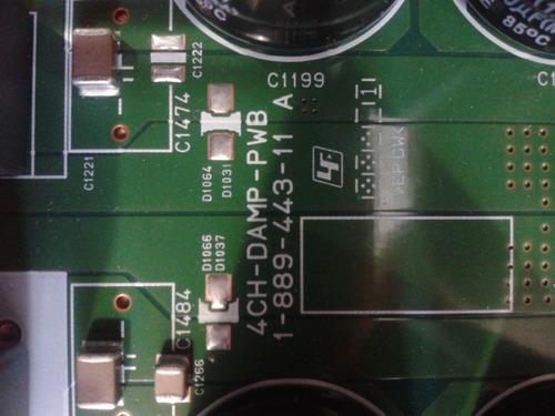 Placa Amplificadora Sony Hcd Shake33/pci 4ch Damp Mont i m  R$300 kq6pF -  Precio D Brasil