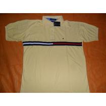 Linda Camisa Polo Tommy Hilfiger Amarela G G Leilao A 1r$