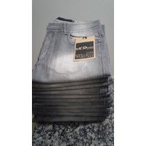 Calça Masculina Jeans Skinny Lycra