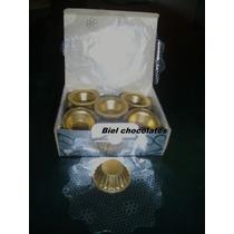 Forminhas De Chocolate Douradas