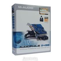 Placa De Som Pci Audiophile 2496 M-audio Nova Baixando
