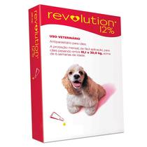 Anti Pulgas Revolution Para Cães De 5,1 Á 10 Kgs