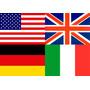 Bandeira De Países Pequenas Festa Nações Olimpíadas 20x30 Cm