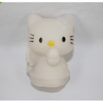 Hello Kitty Iluminada Por Led - Alterna 7 Cores Automático