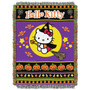 Tapeçaria Jogue Hello Kitty Halloween Witchy 282117