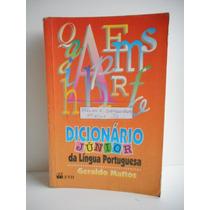 Livro Dicionário Júnior Da Língua Portuguesa Geraldo Mattos