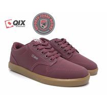 Tênis Skate Qix Base Cereja - Pronta Entrega