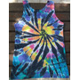 Regata Tie Dye Psicodelica Hippie Colorida Groovy Arte M