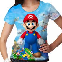 Camiseta Super Mario Standing Feminina