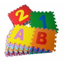 Tapete Eva Alfanumerico Educativo Criança Infantil Grande