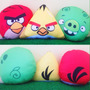Angry Birds Almofada Passaro Vermelho - Unidade